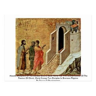 Altarpiece de Maestà del Duomo de Sienese Postales