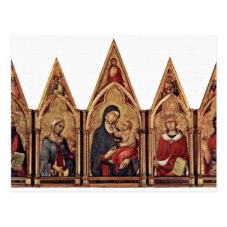 Altarpiece de Maestetã de Boston con la bendición  Postales