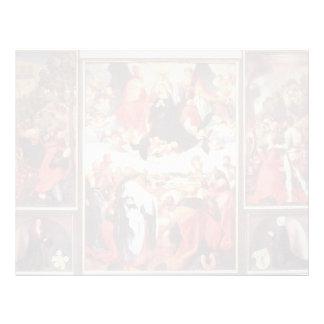 Altarpiece de Matías Grünewald- Heller Membretes Personalizados
