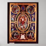 Altarpiece de Sainte-Chapelle Poster