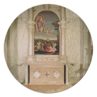 Altarpiece del St Christina Plato De Cena