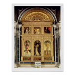 Altarpiece del St. Vincent Ferrer, c.1465 (polypty Posters