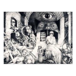 ALTARPIECE III DE VINDOBONA - SERPIENTES Y TARJETAS POSTALES