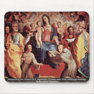 Altarpiece In The Oratory Of St. Bernardino Mouse Pad