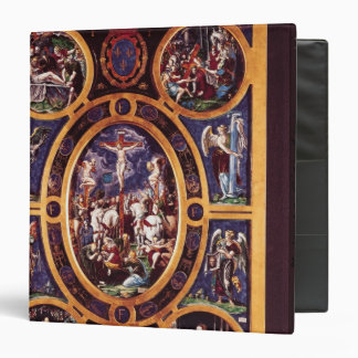 Altarpiece of Sainte-Chapelle 3 Ring Binder