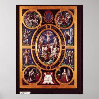 Altarpiece of Sainte-Chapelle Print