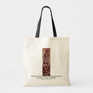 Altarpiece Of San Silvestro In Montappone Canvas Bag