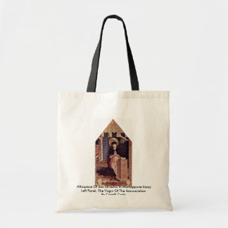 Altarpiece Of San Silvestro In Montappone Canvas Bags