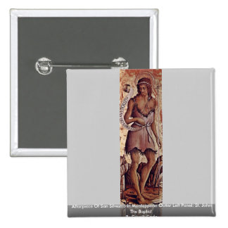 Altarpiece Of San Silvestro In Montappone Pinback Button