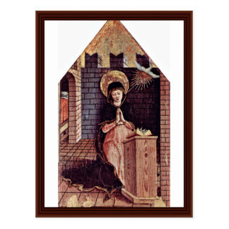 Altarpiece Of San Silvestro In Montappone Post Cards