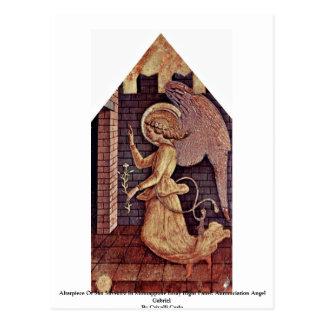 Altarpiece Of San Silvestro In Montappone Postcard