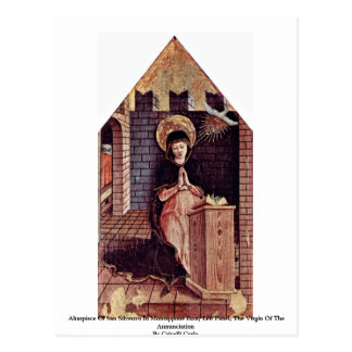 Altarpiece Of San Silvestro In Montappone Postcards