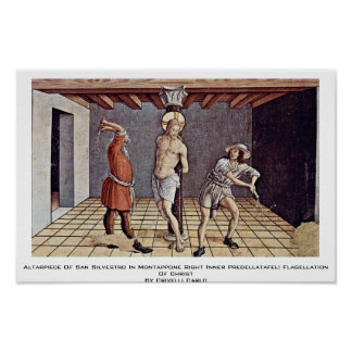 Altarpiece Of San Silvestro In Montappone Posters