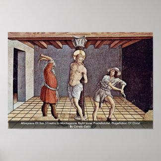 Altarpiece Of San Silvestro In Montappone Poster