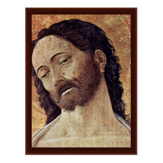 Altarpiece Of St. Luke  By Andrea Mantegna Postcard