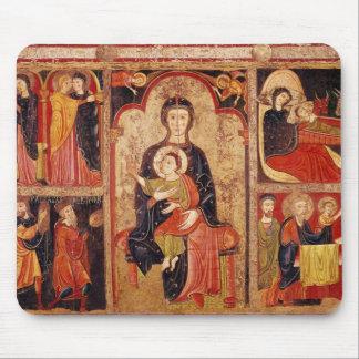 Altarpiece of St. Maria de Avila Mouse Pad