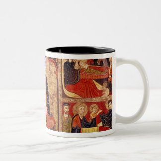 Altarpiece of St. Maria de Avila Two-Tone Coffee Mug
