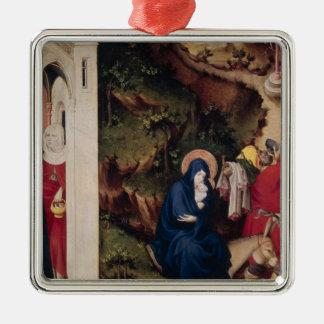 Altarpiece of the Chartreuse de Champmol Metal Ornament