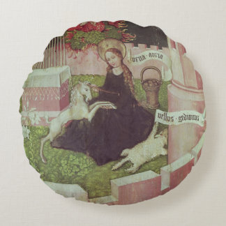 Altarpiece of the Dominicans Round Pillow