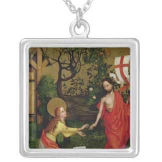 Altarpiece of the Dominicans Silver Plated Necklace