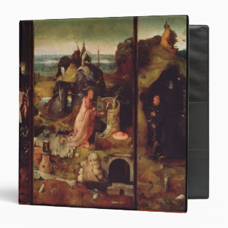 Altarpiece of the Hermits (oil on panel) Binder