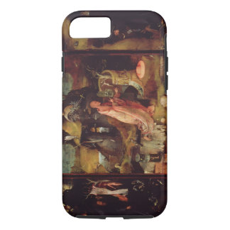Altarpiece of the Hermits (oil on panel) iPhone 8/7 Case