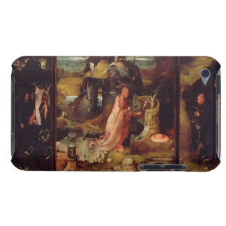 Altarpiece of the Hermits (oil on panel) iPod Touch Case