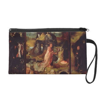 Altarpiece of the Hermits (oil on panel) Wristlet