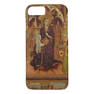 Altarpiece of the Madonna of the Snow, c.1430-32 ( iPhone 8/7 Case