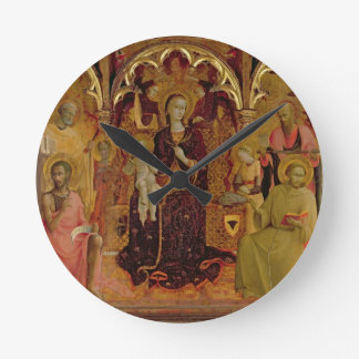 Altarpiece of the Madonna of the Snow, c.1430-32 ( Round Clock