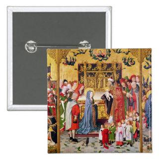Altarpiece of the Seven Joys of the Virgin Button