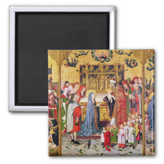 Altarpiece of the Seven Joys of the Virgin Magnet