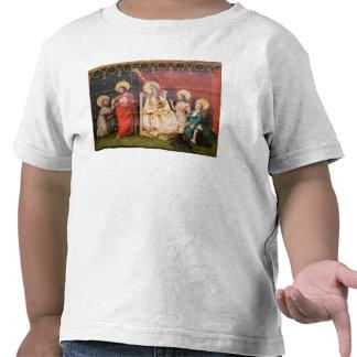 Altarpiece que representa a Cristo con St Thomas Camiseta