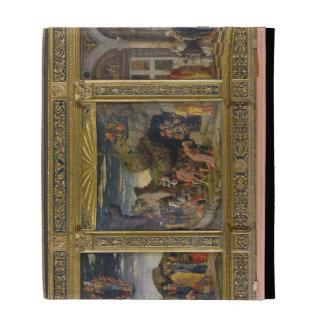 Altarpiece que representa la ascensión, la adoraci