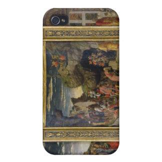 Altarpiece que representa la ascensión, la adoraci iPhone 4 cárcasas