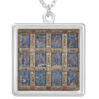 Altarpiece Silver Plated Necklace