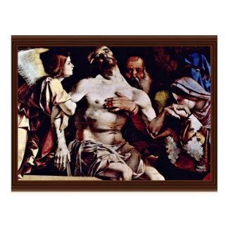 Altarpolyptychon de Recanati que corona la boa pri Tarjetas Postales
