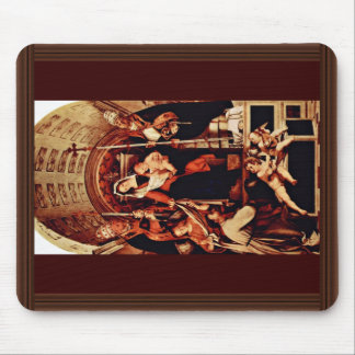 Altarpolyptychon Of Recanati Main Plate: Enthroned Mouse Pads