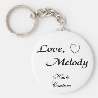 altas costuras de la melodía del amor - modificada llavero redondo tipo pin