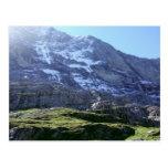 Altas cuestas en la región de Jungfrau Postal