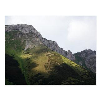 Altas montañas de Tatra en Eslovaquia Postal