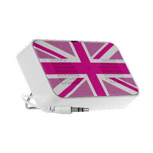 Altavoces BRITÁNICOS británicos rosados de la band