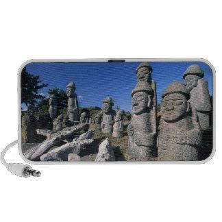 Altavoces de abuelo de piedra de Jeju Harubang Mp3