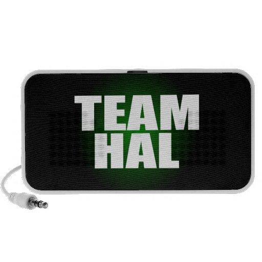 Altavoces de Hal del equipo