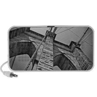 ALTAVOCES de iPod del puente de Brooklyn