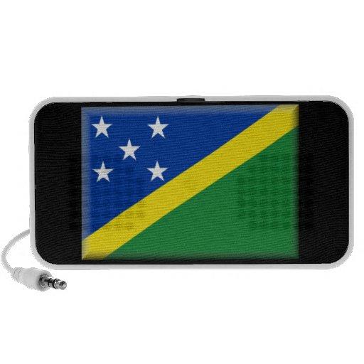Altavoces de la bandera de Solomon Island