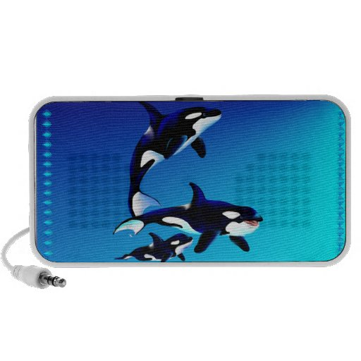 Altavoces de la familia de la orca