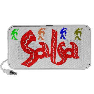 ¡Altavoces de la salsa! iPod Altavoz