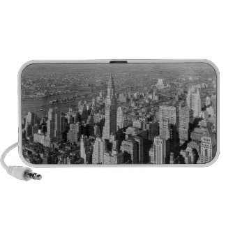 Altavoces de Manhattan iPod del vintage