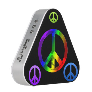 Altavoces de Pieladium del signo de la paz Altavoz Bluetooth